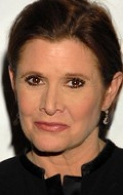 Full Carrie Fisher filmography who acted in the movie Star Wars.