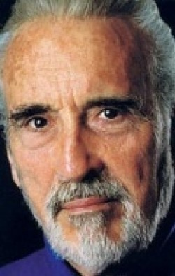 Full Christopher Lee filmography who acted in the movie Star Wars: Episode II - Attack of the Clones.