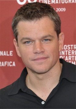 Full Matt Damon filmography who acted in the movie Contagion.