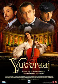 Yuvvraaj is similar to The Grand Budapest Hotel.