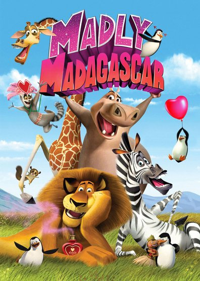 Movies Madly Madagascar poster