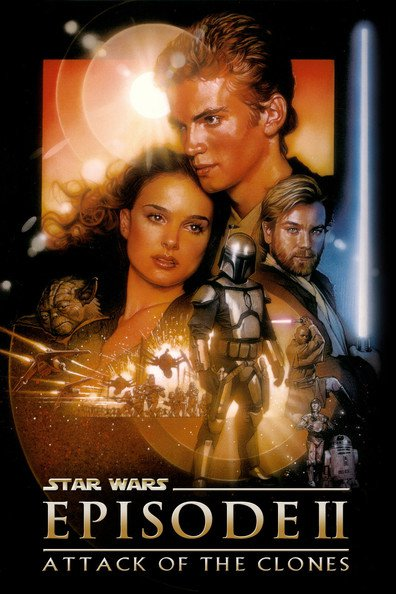Movies Star Wars: Episode II - Attack of the Clones poster