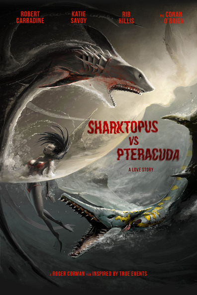 Movies Sharktopus vs. Pteracuda poster