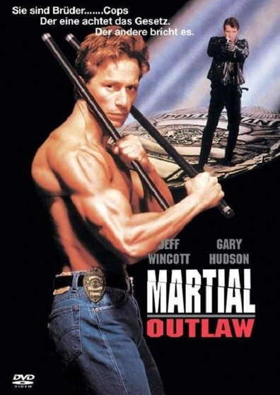 Movies Martial Outlaw poster