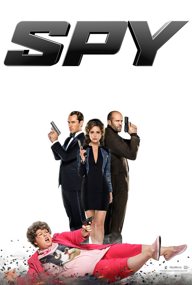 Spy cast, synopsis, trailer and photos.
