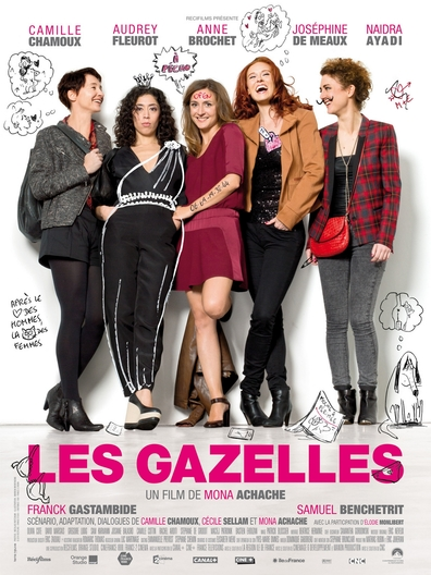 Movies Les gazelles poster