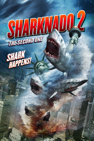 Sharknado 2: The Second One cast, synopsis, trailer and photos.