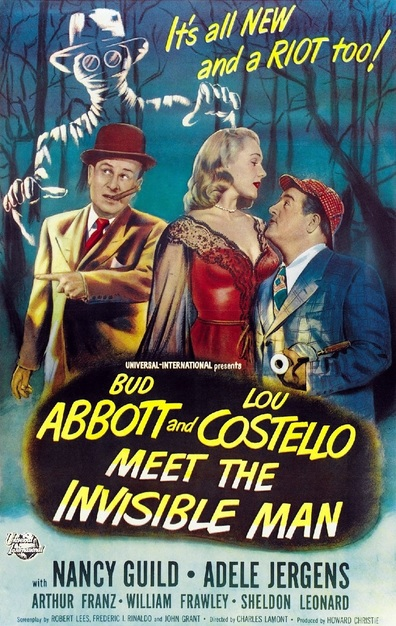 Movies Abbott and Costello Meet the Invisible Man poster