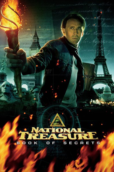 Movies National Treasure: Book of Secrets poster