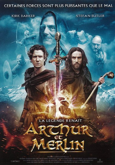 Movies Arthur & Merlin poster