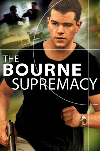 Movies The Bourne Supremacy poster