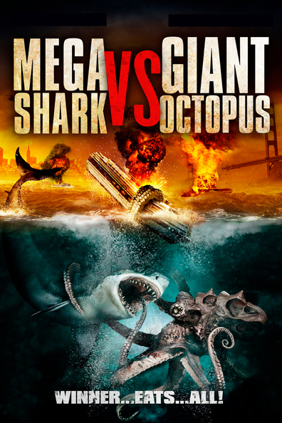 Mega Shark vs. Giant Octopus cast, synopsis, trailer and photos.