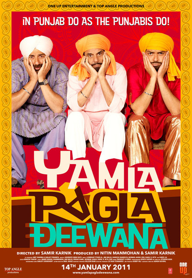 Yamla Pagla Deewana cast, synopsis, trailer and photos.