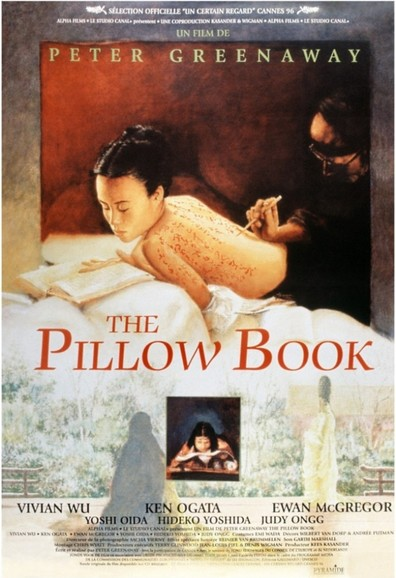 Movies The Pillow Book poster