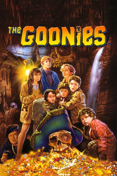 The Goonies cast, synopsis, trailer and photos.