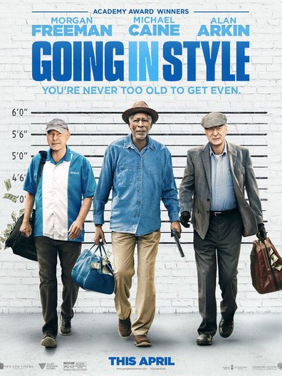 Going in Style cast, synopsis, trailer and photos.