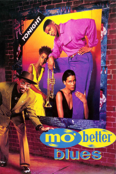 Movies Mo' Better Blues poster