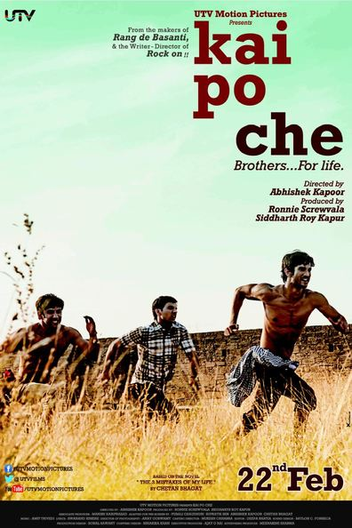 Kai po che cast, synopsis, trailer and photos.