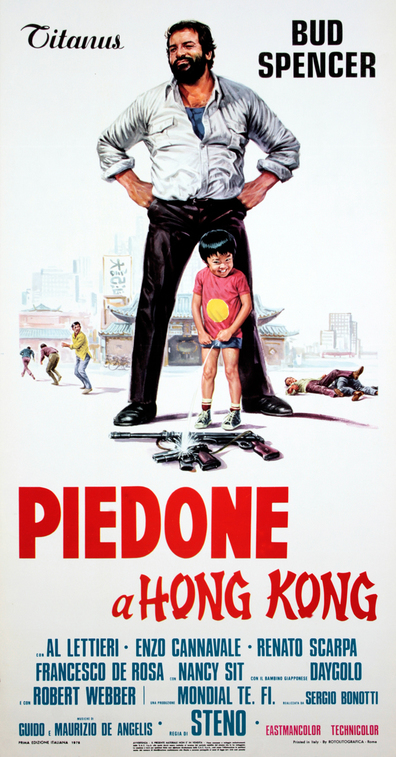 Movies Piedone a Hong Kong poster