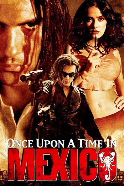 Movies Once Upon a Time in Mexico poster