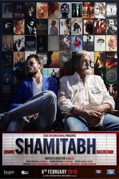 Movies Shamitabh poster