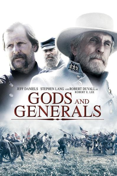 Movies Gods and Generals poster