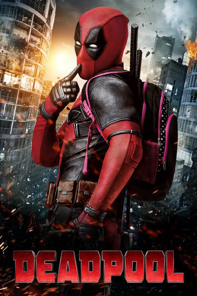 Movies Deadpool poster