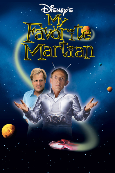 Movies My Favorite Martian poster
