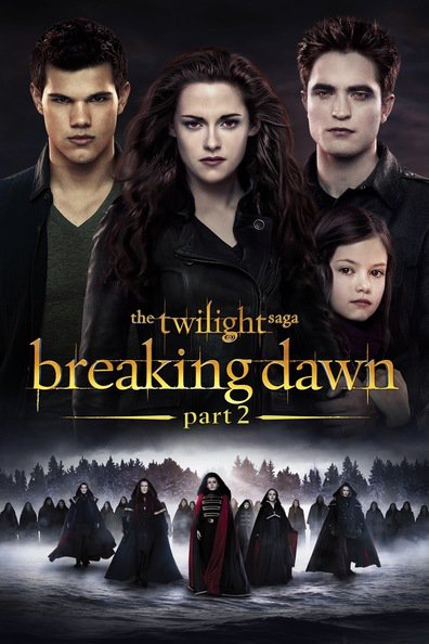 The Twilight Saga: Breaking Dawn - Part 2 cast, synopsis, trailer and photos.