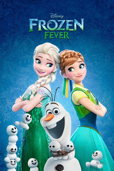 Movies Frozen Fever poster