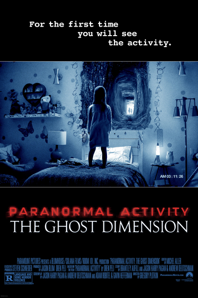 Movies Paranormal Activity: The Ghost Dimension poster