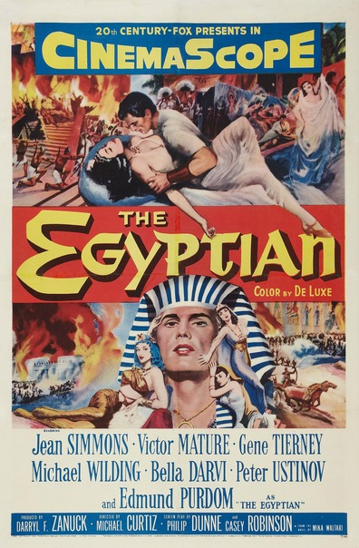 Movies The Egyptian poster