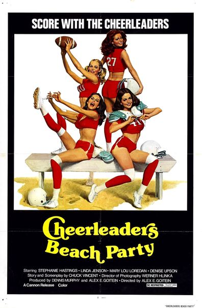 Cheerleaders Beach Party cast, synopsis, trailer and photos.