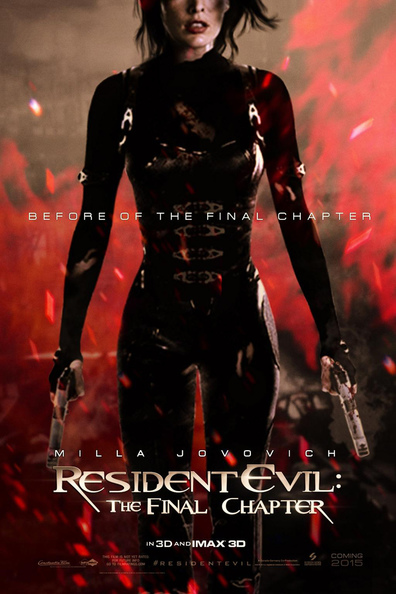 Movies Resident Evil: The Final Chapter poster
