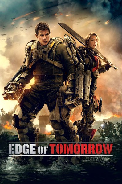 Movies Edge of Tomorrow poster