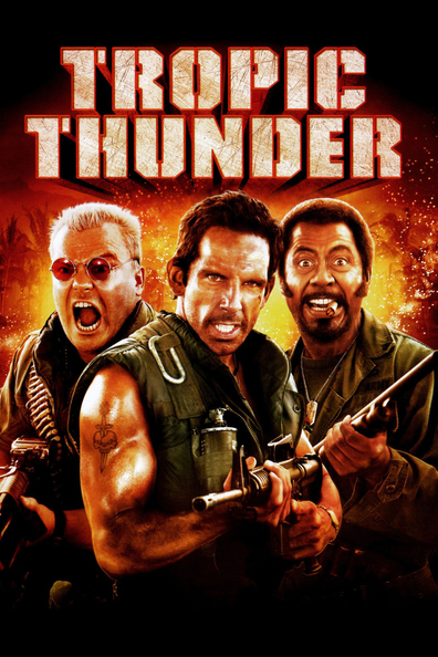 Movies Tropic Thunder poster