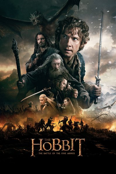 The Hobbit: The Battle of the Five Armies cast, synopsis, trailer and photos.