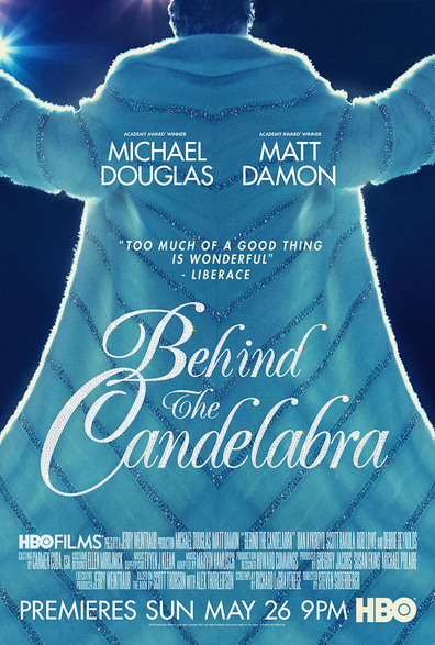 Movies Behind the Candelabra poster