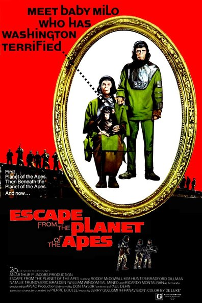 Movies Escape from the Planet of the Apes poster