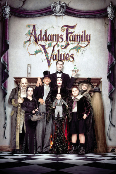 Movies Addams Family Values poster