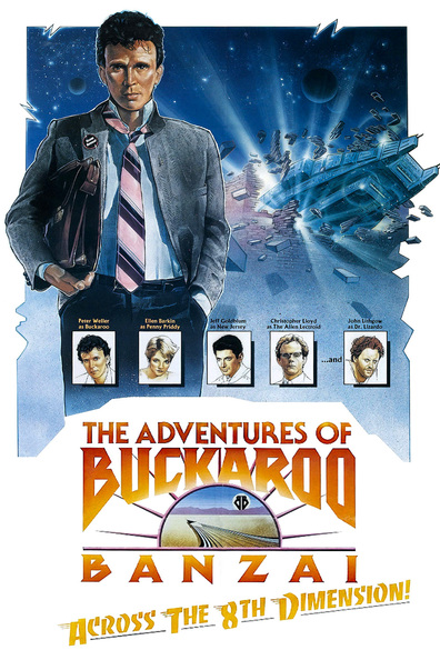 Movies The Adventures of Buckaroo Banzai Across the 8th Dimension poster