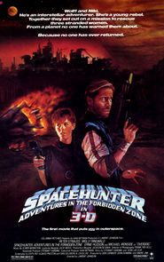 Spacehunter: Adventures in the Forbidden Zone is similar to Point Break.