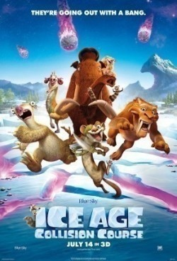 Best animated film Ice Age: Collision Course images, cast and synopsis.