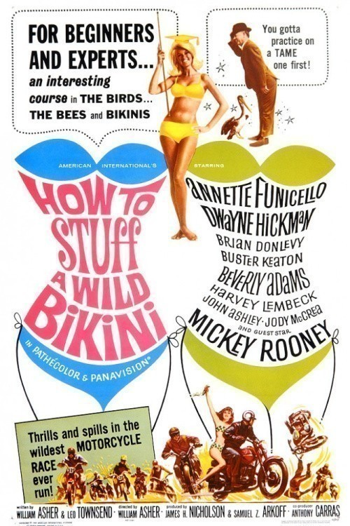 How to Stuff a Wild Bikini is similar to Revenge of the Whale.