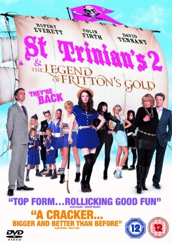 Movies St Trinian's 2: The Legend of Fritton's Gold poster