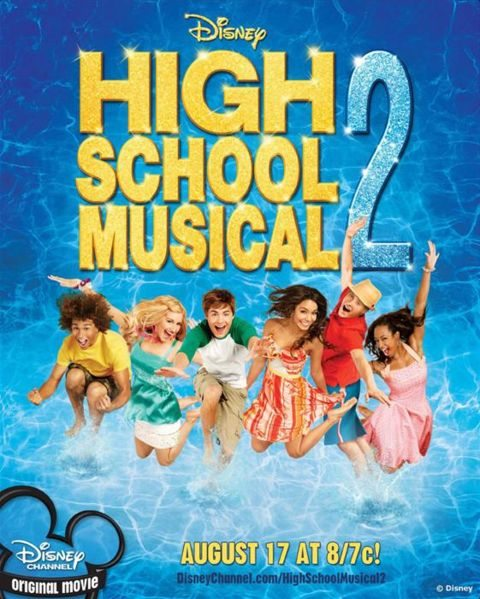 High School Musical 2 is similar to Se me sale cuando me rio.