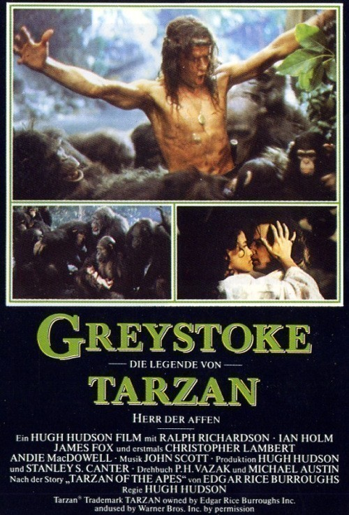Greystoke: The Legend of Tarzan, Lord of the Apes is similar to The Ice Harvest.