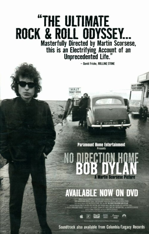 No Direction Home: Bob Dylan is similar to Peter Tatchell: Just Who Does He Think He Is?.