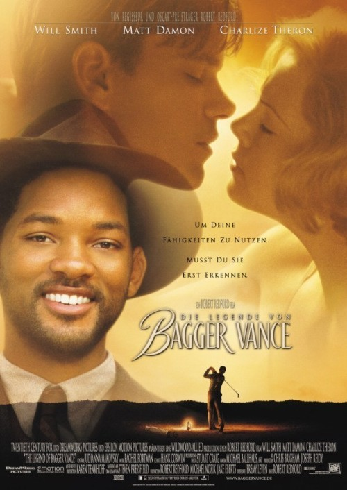The Legend of Bagger Vance is similar to Vo imya lyubvi.