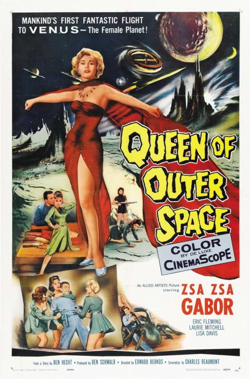 Queen of Outer Space is similar to Little Dead Rotting Hood.
